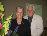 A picture of Ossie and Elaine Rentsch - leading Bowen experts.