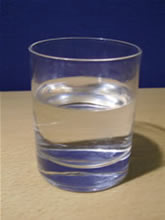 A picture of a fresh glass of water